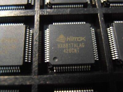 2pcs HX8817ALAG   TCON with YUV Input and DAC  HX8817A  LQFP64   Himax