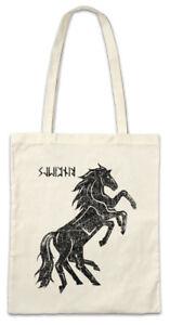 Sleipnir-II-Stofftasche-Einkaufstasche-Odhins-Horse-Pferd-Odin-Wikinger-Vikings
