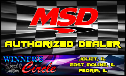 MSD 8850 Replacement Boots and Terminals 90° MSD Logo