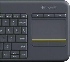 Artikelbild Logitech K400 Plus Wireless Touch Dunkelgrau Tastatur Fernseher TV NEU OVP
