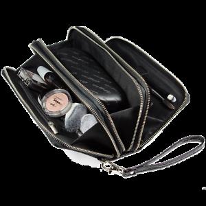 Details zu WILZOG Kosmetiktasche Make Up Tasche Schwarz Schminktasche. Zum Aktionspreis