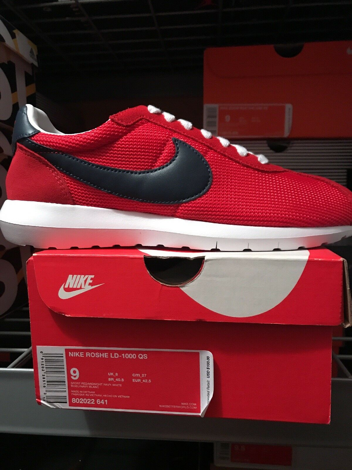 brand new 8568b 483fa Mr Ms  nike nike nike roshe ld-1000 qs  multiple and different 7cb2aa