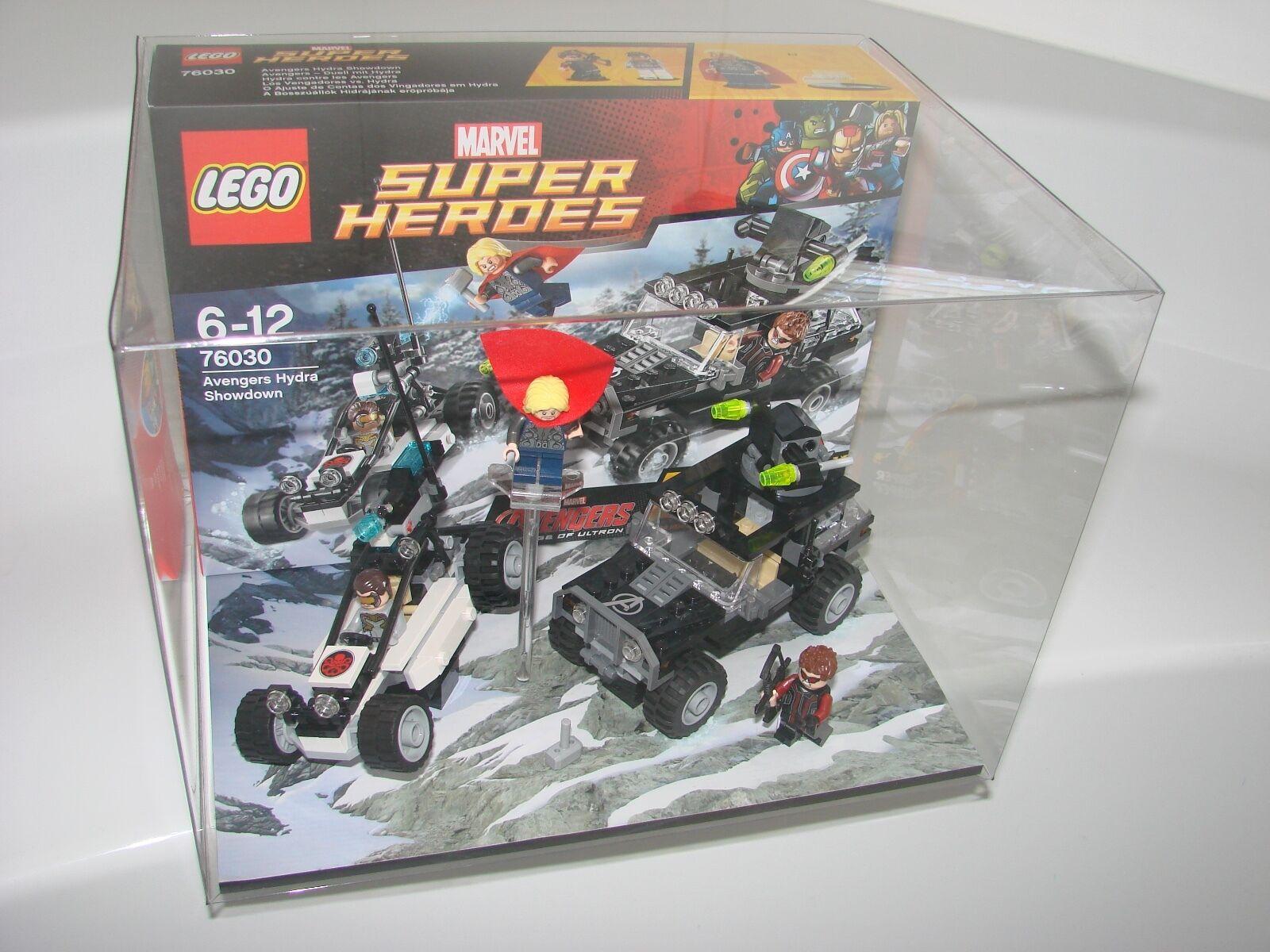 LEGO® DC Comics Super Heroes Heroes Heroes 76030 DIORAMA -Schaukasten Avengers Hydra Showdown 881d6c