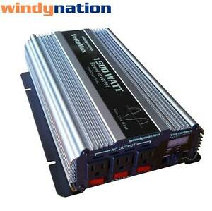 VertaMax-1500-Watt-Pure-Sine-Wave-Power-Inverter-DC-to-AC-Car-RV-w-LCD-Display