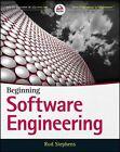 Beginning Software Engineering by Rod Stephens (Paperback, 2015)