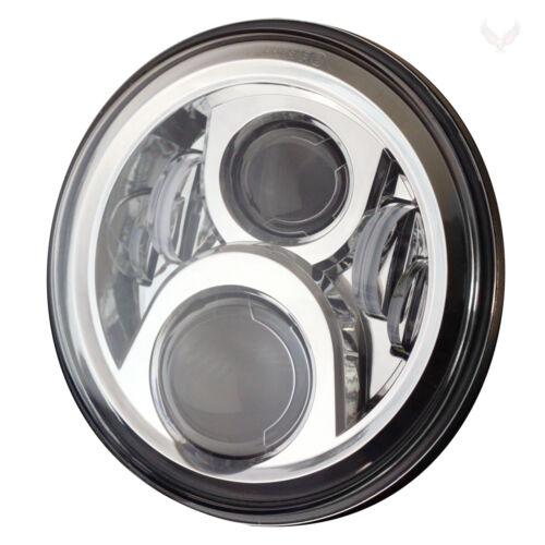 "Eagle Lights Chrome Gen 2 7/"" Harley LED Headlight Kit w// Generation 2 Fog Lights"