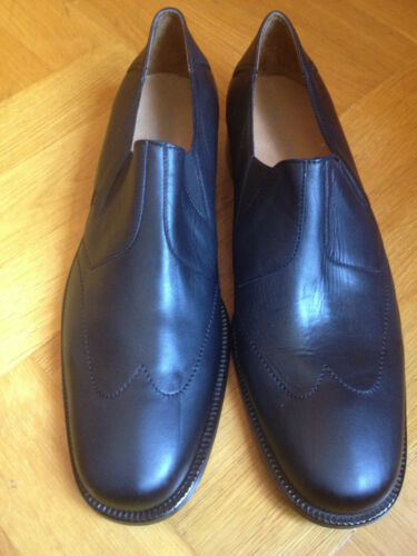 John Varvatos basses Loafers Mocassin Noir US 12 EUR 4546 UK 11 afficher le titre d'origine