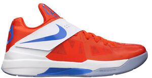 check out b7805 4bdf9 Image is loading Nike-Zoom-KD-4-IV-Creamsicle-Size-11-