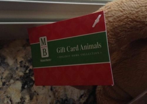 Gift Card Holder  Plush Choose Occasion Adorable Collectable NWT