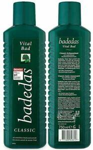 Badedas Classic Vital Bad Bath Gel - 750ml