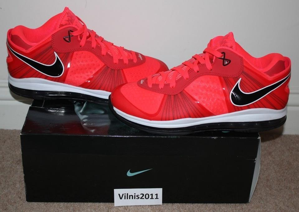 Nike Nike Nike Lebron 8 V 2 Low SOLAR rosso 12 US All Star South Beach Sprite What The 610be5