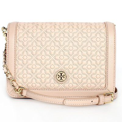Brand New Tory Burch 46182 Light Oak 205 Bryant Quilted