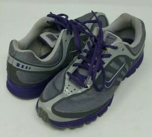 Nike-429436-Women-039-s-Size-8-5US-Running-Sneakers-Purple-Grey-Good-Condition