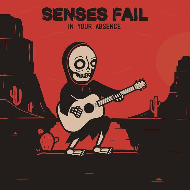 Senses Fail IN Your Absence (2017) 5-track CD EP Nuevo/Unplayed