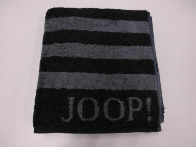 Joop Handtuch Streifen Schwarz Größe 50x100 Cm