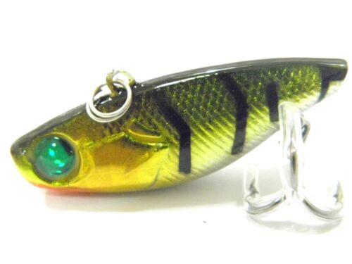 Wlure 3.8cm 4.9ml Lipless Trappola Sinking Esca Artificiale per Pesce Persico da