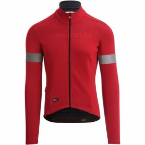 Castelli Men's Nelmezzo RoS Limited Edition Jersey Large Red MSRP $249.95