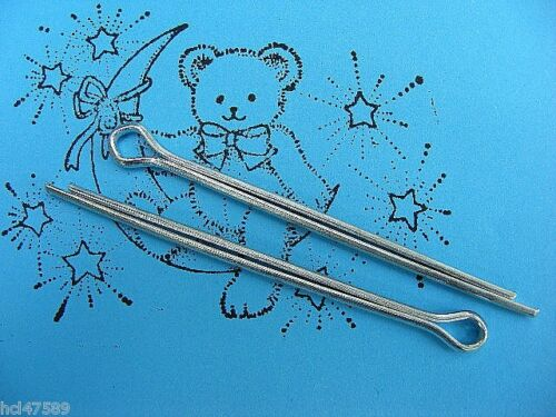 Teddy wackelkopfgelenk Round Head Pin 2 Piece 40mm