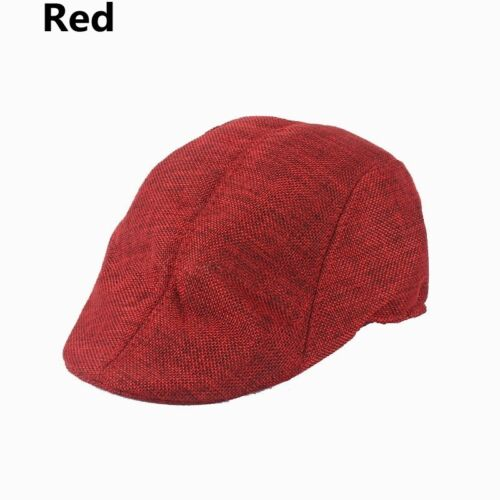 UK Retro Men/'s Beret Flat Cap Baker Boy Peaked NewsBoy Country Outdoors Hat 52cm