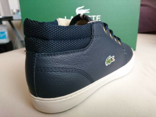 Lacoste Ampthill Terra SUSCEPTANCE 2 SPW Chaussures Femmes Sneaker warmfutter Bleu Nouveau