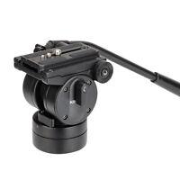KINGJOY VT-2510 Fluid Dydraulic Damping Tripod Ball Head w Quick Release Plate