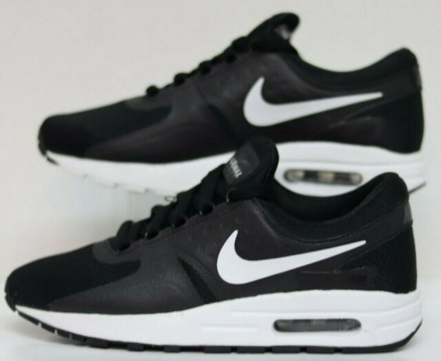Nike Air Max Zero Essential Black Athletic Running Shoes 4.5y Size 6 Womens