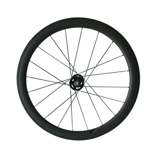 Track Bike Front Carbon Wheel with Novatec A165SB Fixed Gear Front Hub 20 Holes