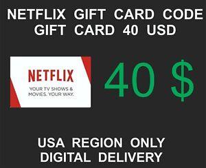 Netflix-Prepaid-Gift-Card-Key-Service-USA-Region-Only-40-USD-Credit