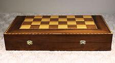 Legno gioco degli scacchi, backgammon, Artigianato, Nuovo da damaskunst, Siria