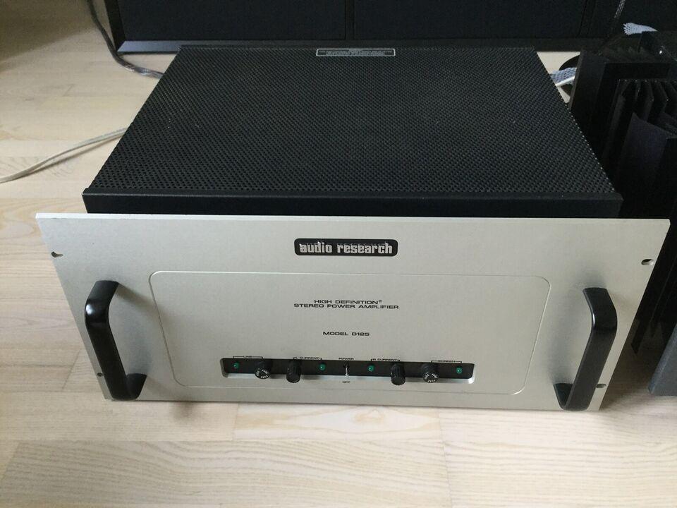 Effektforstærker, Audio Research, D125
