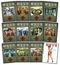 MASH The Complete Series + Movie Collection DVD Set Series TV Show Episodes Film