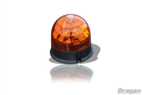 Amber LED Bolt Mounting Strobe Flashing Beacon Recovery Truck Breakdown Forklift