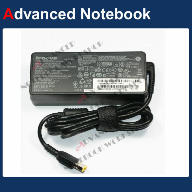Genuine Lenovo AC Adapter Power Charger 90W For ThinkPad Edge E550 E560 E570