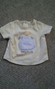 000-Absorba-6-Months-Yellow-Baby-Shirt-Mes-Amis-My-Friends