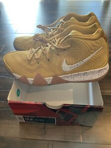 premium selection 17e4d 84ffc Details about Brand New Size 10.5 Mens Nike General Mills Cinnamon Toast  Crunch Kyrie 4 Gold