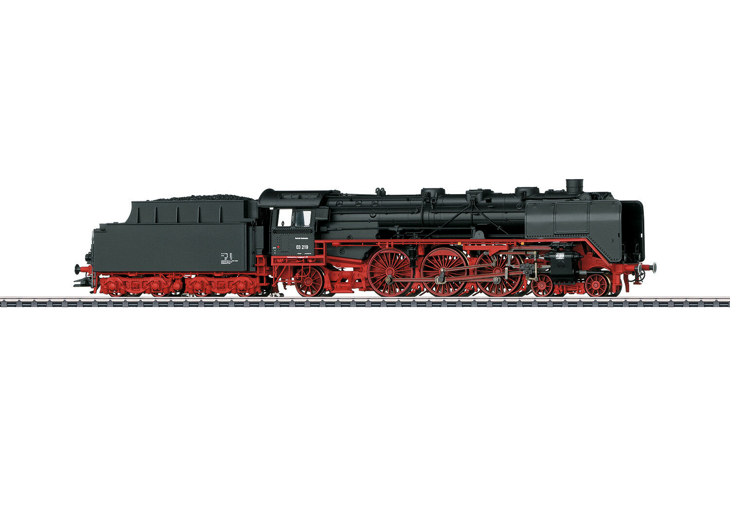 h0 Digital MFX + Sound 37949 locomotiva BR 03 Palisadenstrasse traino TENDER DB-NUOVO