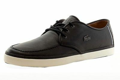 12Ebay Sevrin Lcr Sneakers Black Lacoste Size Mens Shoes Leather 5 Srm Boat 9 Qrdtsh