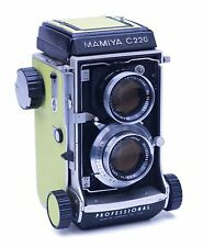 Mamiya C220 Profession Replacement Cover - Laser Cut Recycled Leather - 5 Colors