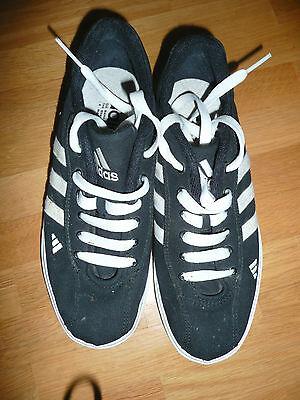 Adidas Turnschuhe Gr. 38 Schwarz Stoff