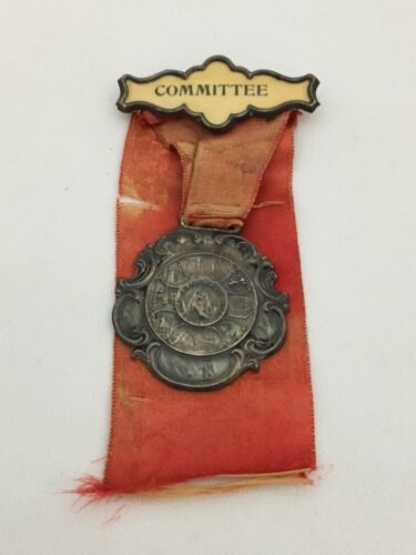 1907 LYNN MA OLD HOME WEEK COMMITTEE MEDAL