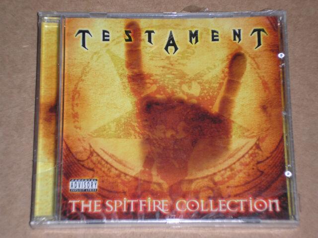 TESTAMENT - THE SPITFIRE COLLECTION - CD SIGILLATO (SEALED)