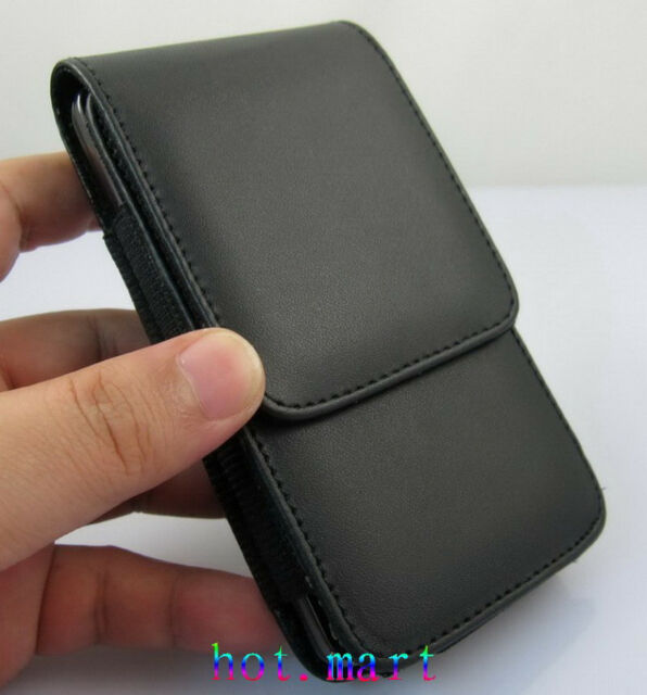 New for Apple iPhone 8 pu Leather Pocket Case Cover Pouch + Belt Clip