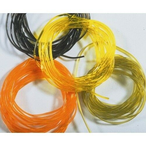 Magic Glass for fly tying Half round body material for flat or segmented body