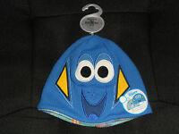 Disney Store Toddler Boy Or Girl Finding Dory Reversible Beanie Xxs/xs(2-3)