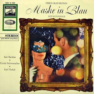 7-034-FRED-RAYMOND-Maske-in-Blau-SARI-BARABAS-KARL-TERKAL-ELECTROLA-Stereo-EP-1958