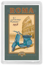ROME ITALY FRIDGE MAGNET SOUVENIR MOD. 1 - ROMA ITALIA IMAN NEVERA