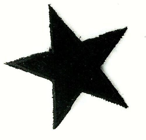 Applikation zum Aufbügeln  Bügelbild 1-254 Stern mit Veloursoberfläche
