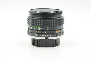 Minolta MC 50mm F1.7 Rokkor-X PF Lens 50/1.7 #083