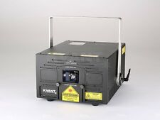 Kvant clubmax 3400 RGB Pure Diode excellent white high-end show laser, Software Pangolin