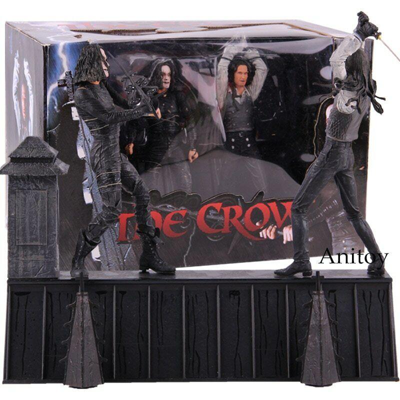 NECA The Crow Wirkung Figure Eric Draven VS. top Dollar Horror Movie Dolls PVC